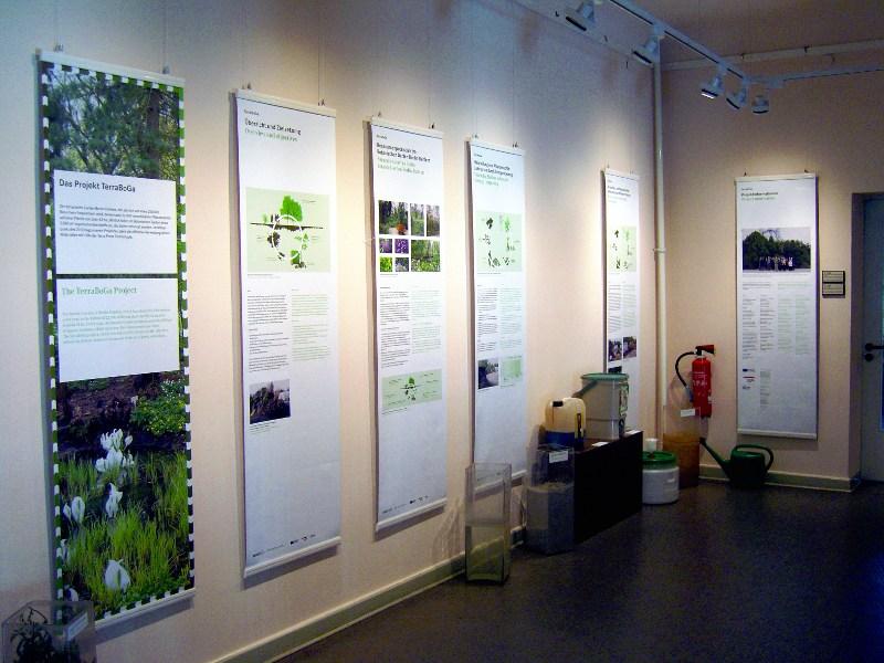 Terra Preta Ausstellung im Botanischen Garten